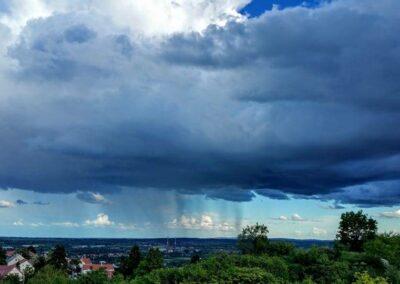 Cumulonimbus virga