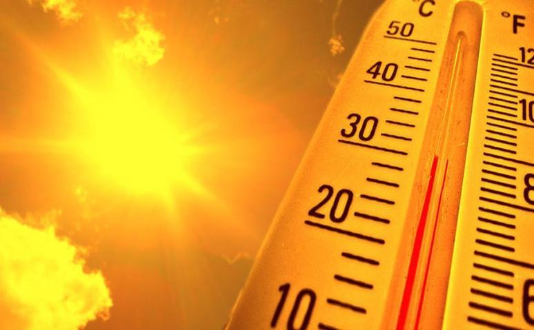 Legmagasabb fokozatú, avagy piros figyelmeztetés a forróság miatt!
